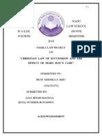 Family Law, Ajay Singh Maurya, Bc0140005