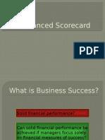 Balanced Scorecard B