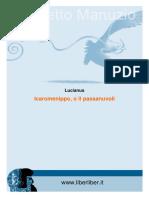 Luciano di Samosata - Icaromenippo ovvero un viaggio tra le nuvole.pdf