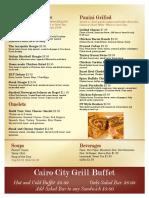 menu page 2 lunch