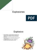 Explosiones y Explosivos