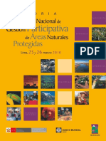 Encuentro Nacional de Gestion Participativa de ANP 2010