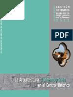 Centros Historicos 2011 - La Arquitectura Contemporánea en el Centro Histórico - ArquiLibros - AL.pdf