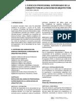 Normativo del Ejercicio Profesional Supervisado Arquitectura.pdf