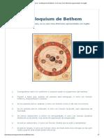 Astrologia Medieval - Centiloquium de Bethem, Ou Os Seus Cem Aforismos Apresentados Em Inglês
