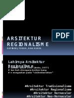 11 ars regionalisme dan regionalisme kritis