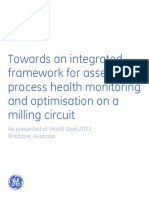 GE Integrated Asset and Process Monitoring and Optimisation on a Milling Circuit