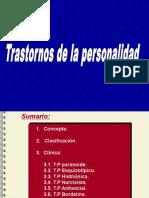 Orientaciones MDS-IV Trastornos de La Personalidad