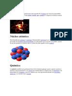 Átomo Quimica