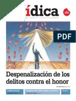 DESPENALIZACIÓN DE LOS DELITOS CONTRA EL HONOR