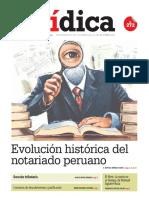 EVOLUCIÓN HISTÓRICA DEL NOTARIADO PERUANO