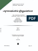 Blau - The Beginnings of the Arabic Diglossia - A Study of the Origins of Neoarabic (1977)