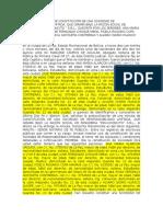 Escritura Pública de Constitución de Una Sociedad de Responsabilidad Limitada