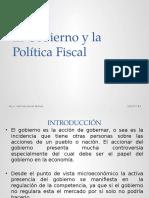 Unidad 4 El Gobierno y La Politica Fiscal