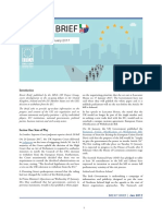 Brexit Brief, Published by the IIEA's UK Project Group, United. Kingdom, Ireland and the EU Member States Over the UK's . Seeking a New Trade Deal With the EU, .in Her Speech to Lancaster House, Agreement Are Not Jeopardised by the UK's Exit