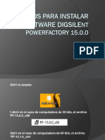 Pasos Para Instalar Software DigSILENT PowerFactory 15