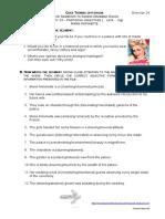 24 Marie Antoinette - Participal Adjectives