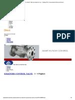 Solenoid Control Valve - Elite Line Industrial Corp