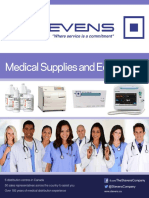 Medical Supplies and Equipment Catalogue