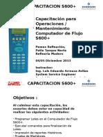 S600+ maintenance training Madero