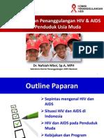 Pencegahan Dan Penanggulangan HIV Dan AIDS Pada Penduduk Usia Muda Nafsiah Mboi1
