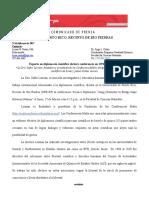 Comunicado de Prensa- Experta en Diplomacia Científica Dictara_ Conferencia en La UPR en Río Piedras
