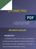 Trabajo de Citometria