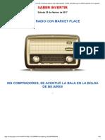 Con El Menor Volumen Operado Del Año, La Bolsa de Buenos Aires Siguió Bajando