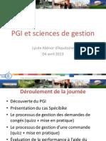 ERP Et Sc. de Gestion