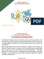 Juegos Olimpicos en La Escuela