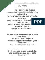 Letra Un Beso y Una Flor
