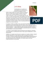 La Malaria y El Clima