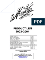 Maton Products