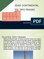 SUELOS 2 , PILOTES FRANKY.ppt