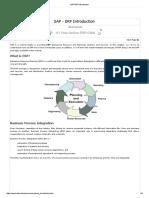 SAP ERP Introduction1