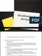 Lect 7 Socialization-Deviance