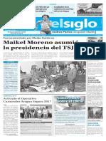 Edición Impresa Elsiglo 25-02-2017