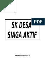 Sk Desa Siaga