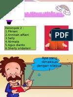 Ppt Menelaah Silabus Berbasis KTSP