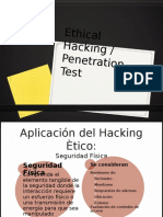Auditoria - Ethical Hacking / Penetration Test