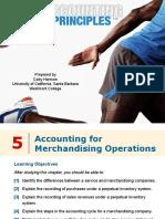 ch05, Accounting Principles