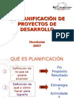 Planificacion de Proyectos
