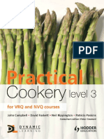 John Campbell, David Foskett, Neil Rippington, Patricia Paskins-Practical Cookery, Level 3-Hodder Education (2011)