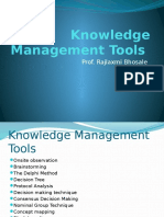 Knowledge Mgmt. Tools