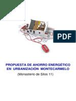 Presupuesto de ahorro energetico en comunidad de vecinos
