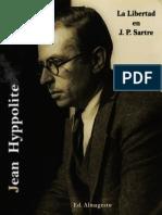 Hyppolite Jean - La Libertad en J.P. Sartre