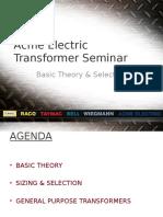 Transformer Seminar
