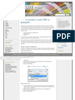 How to Convert a Color PDF to Grayscale _ Converting PDF