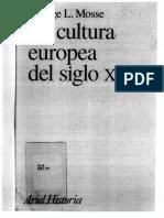 La Cultura Europea Del Siglo Xix.- George l. Mosse