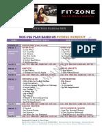 FIT ZONE Nutrition Plan for MEN by Guru Mann